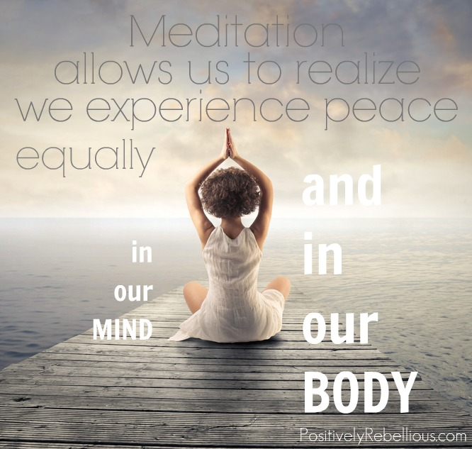 peace in mind and body